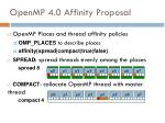 openmp 4 0 affinity proposal