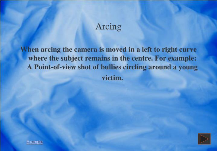 Arcing