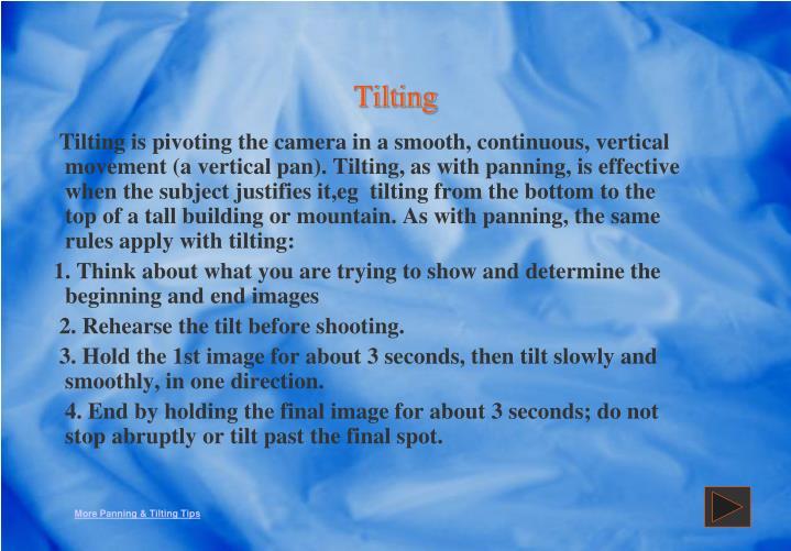 Tilting