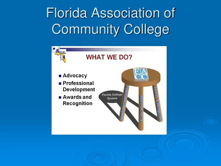 Florida Association of Community College