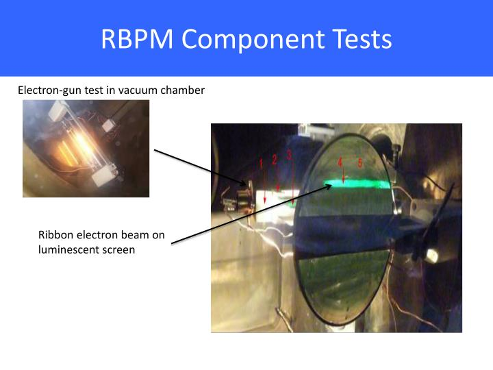 RBPM Component Tests