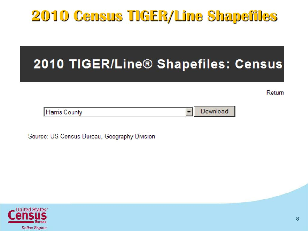 PPT - The 2010 Census and GIS Framework PowerPoint Presentation - ID