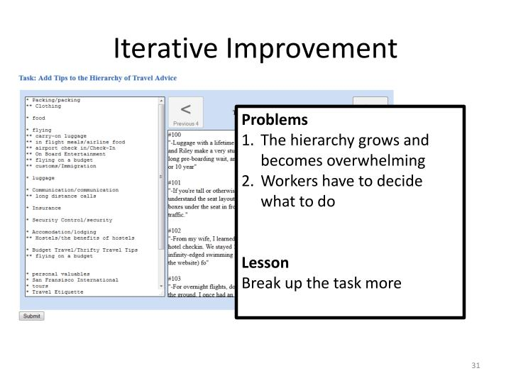 Iterative Improvement