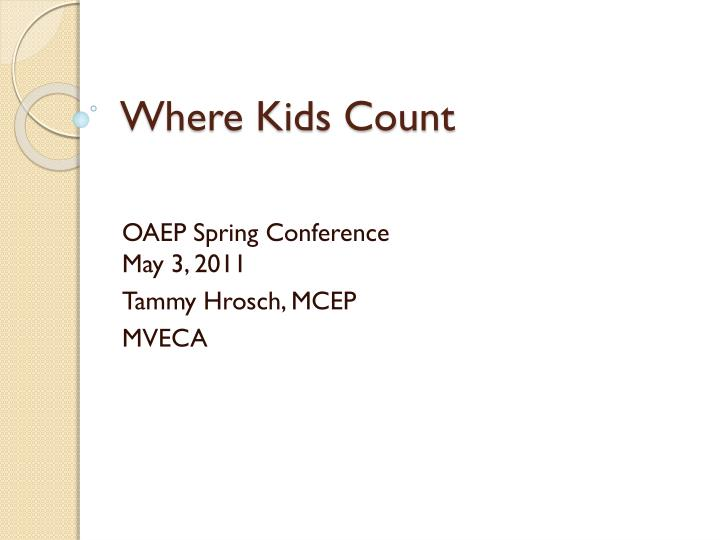 where kids count n.