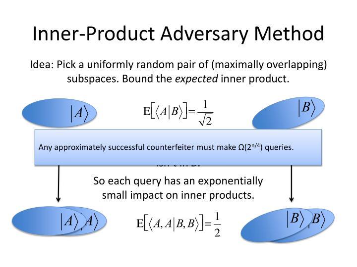 Inner-Product Adversary Method