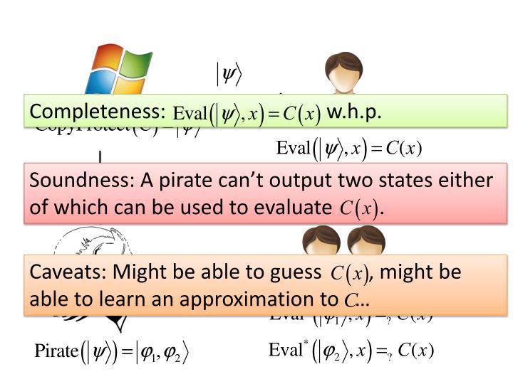 Completeness: