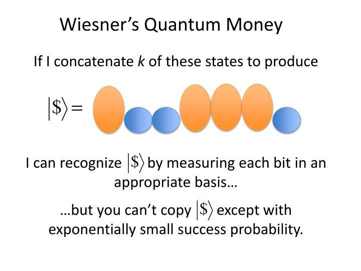 Wiesner's