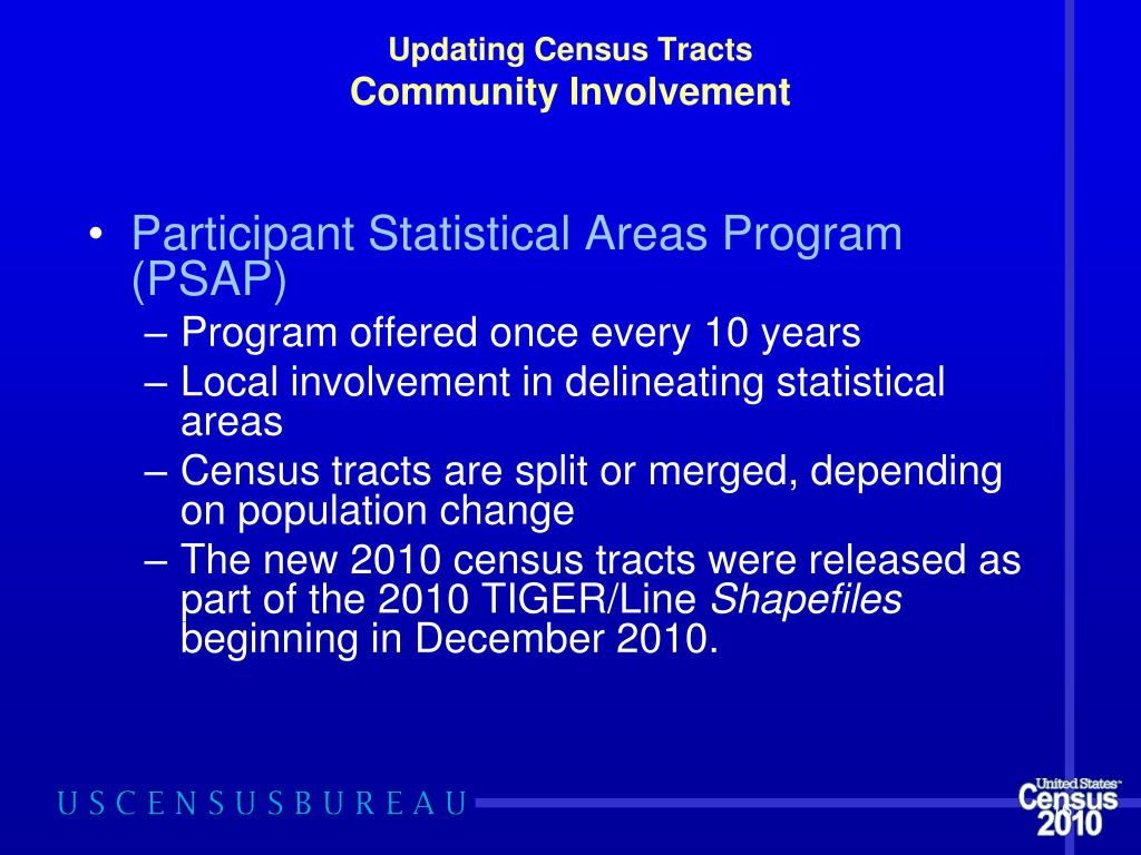 PPT - Small Area Demographics Using Census 2010 TIGER
