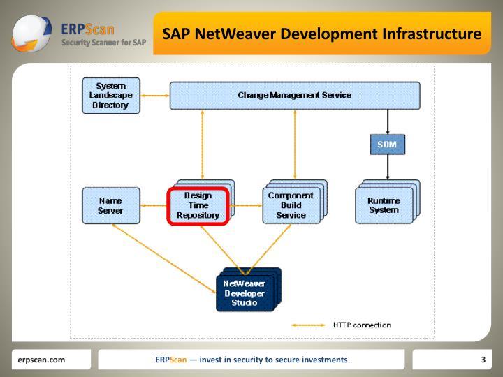 Sap netweaver development infrastructure1