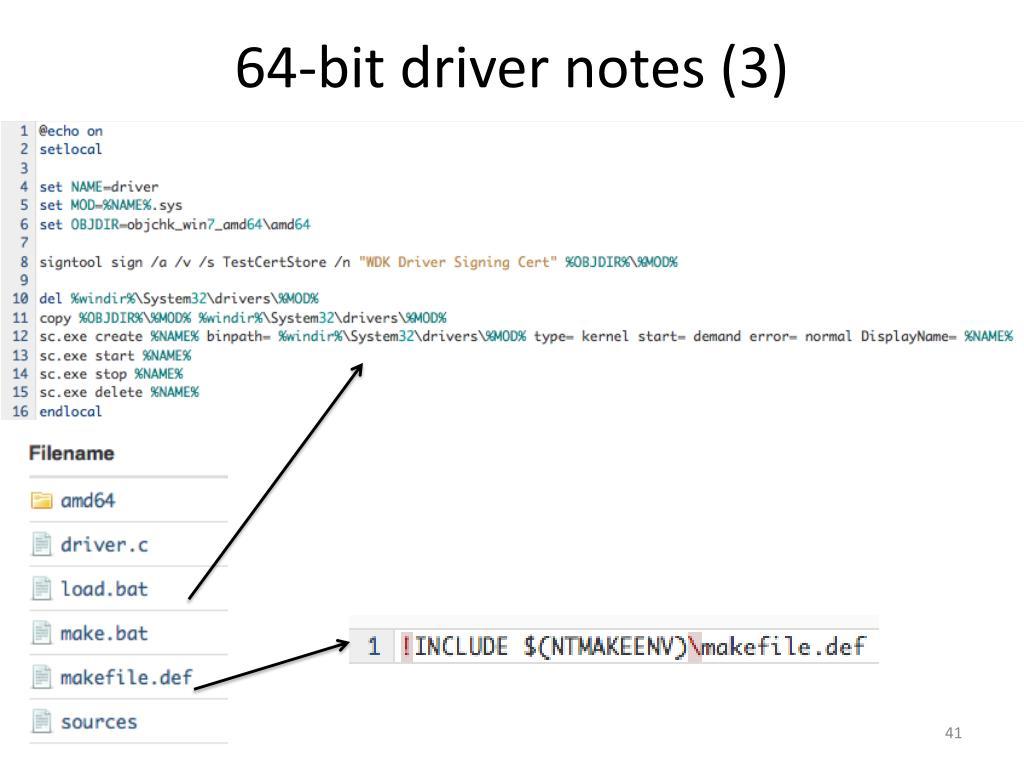 Makefile Error 64