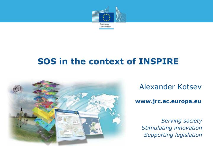 sos in the context of inspire n.