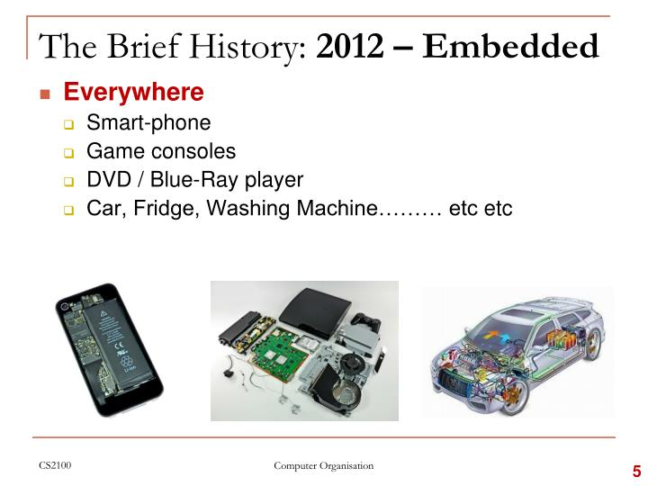 The Brief History: