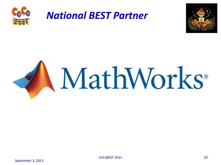 National BEST Partner