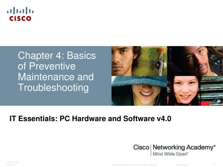 chapter 4 basics of preventive maintenance and troubleshooting n.