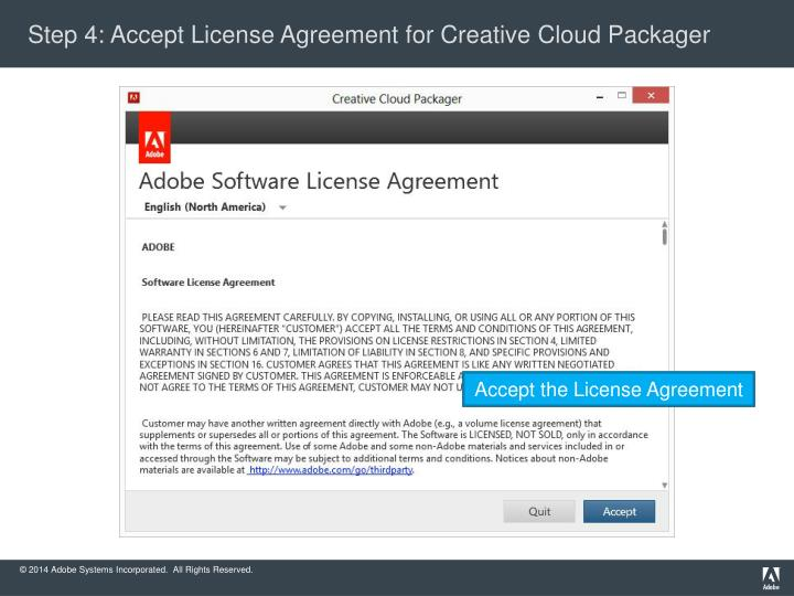 Ppt Creative Cloud Packager 15 Walk Through For Cct Packaging