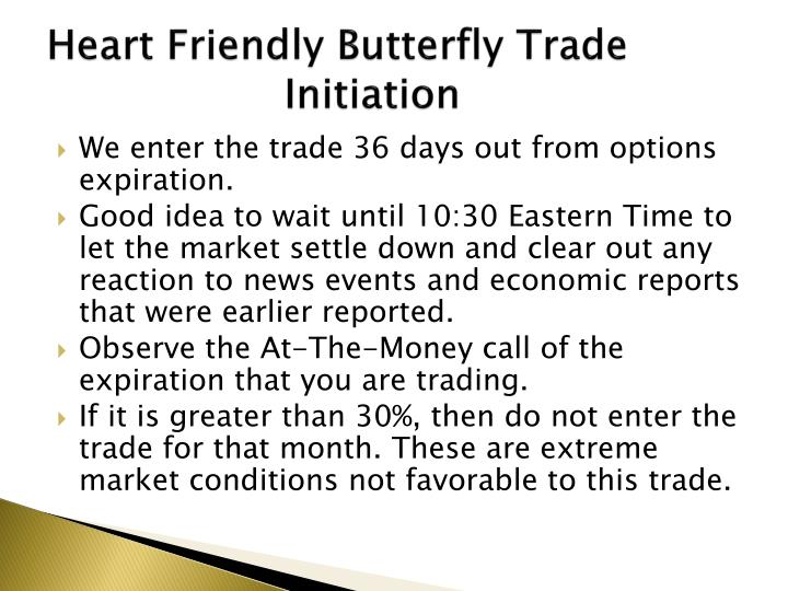 Heart Friendly Butterfly Trade  Initiation