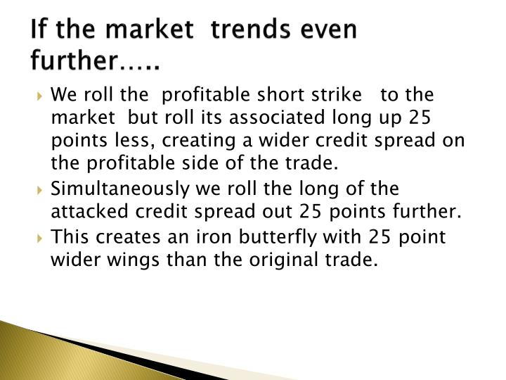 If the market