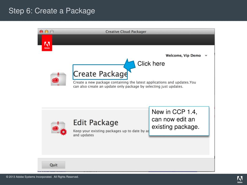 PPT - Creative Cloud Packager 1 4: Walk-through for CCT