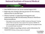 national institute of general medical sciences