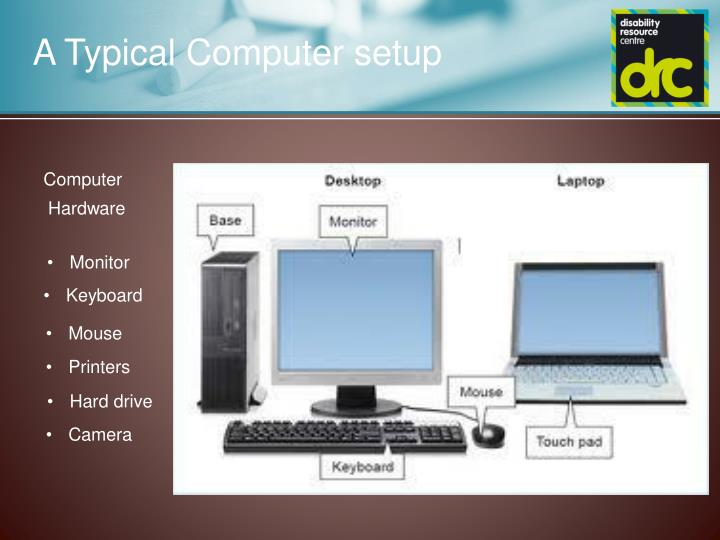 A Typical Computer setup