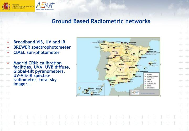 Ground Based Radiometric networks
