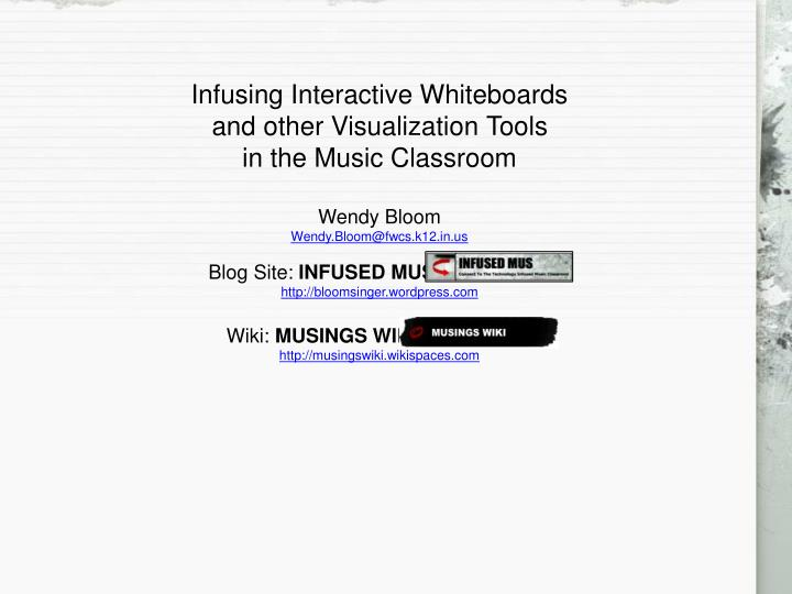 PPT - Visualization       From Wikipedia : The adage
