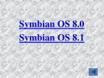 symbian os 8 0 symbian os 8 1