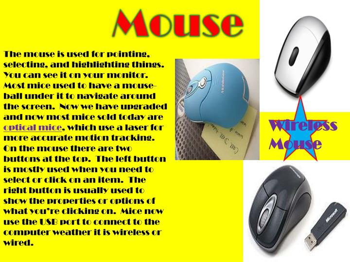 M ouse