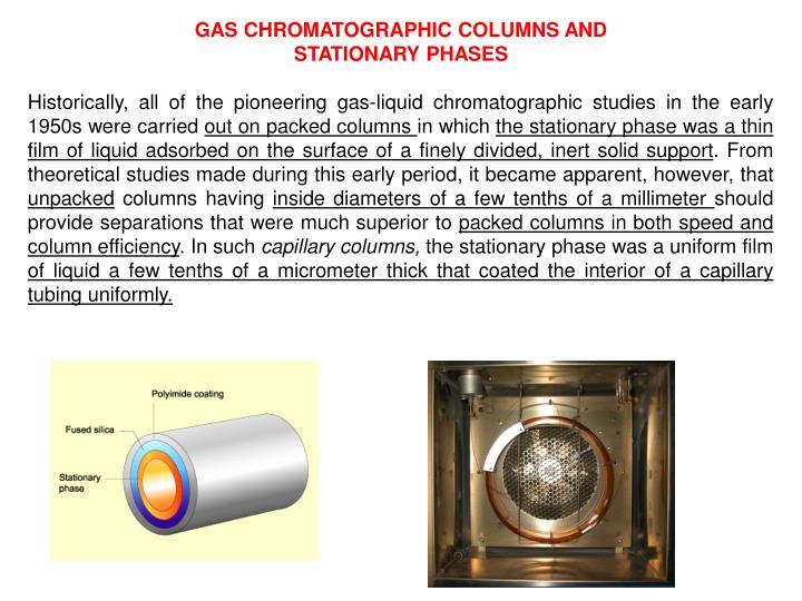 GAS CHROMATOGRAPHIC
