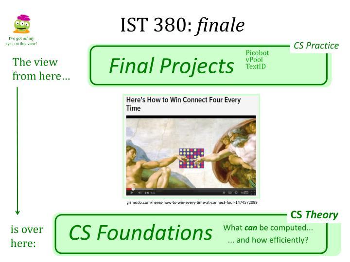IST 380: