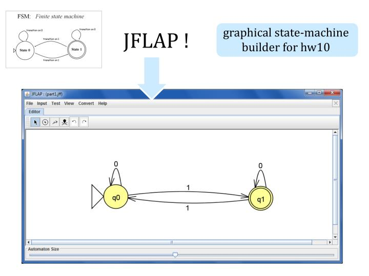 graphical state-machine builder for