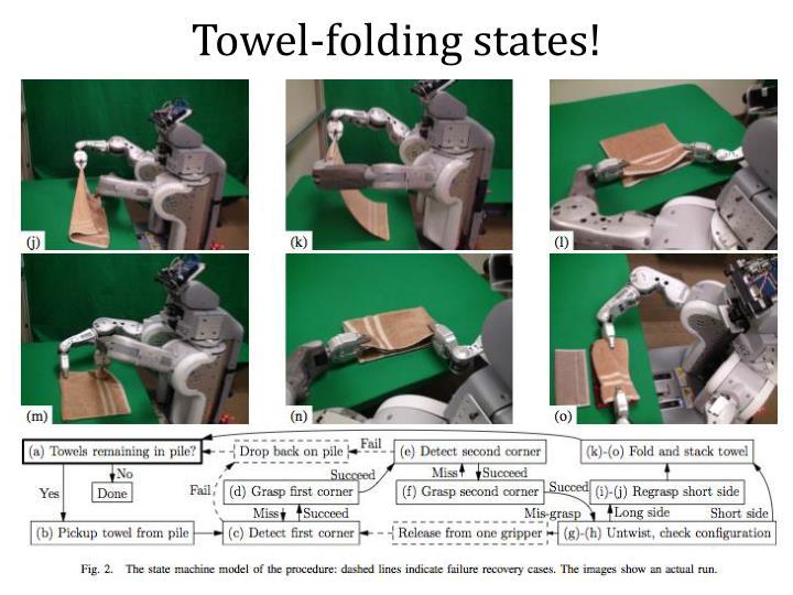 Towel-folding states!