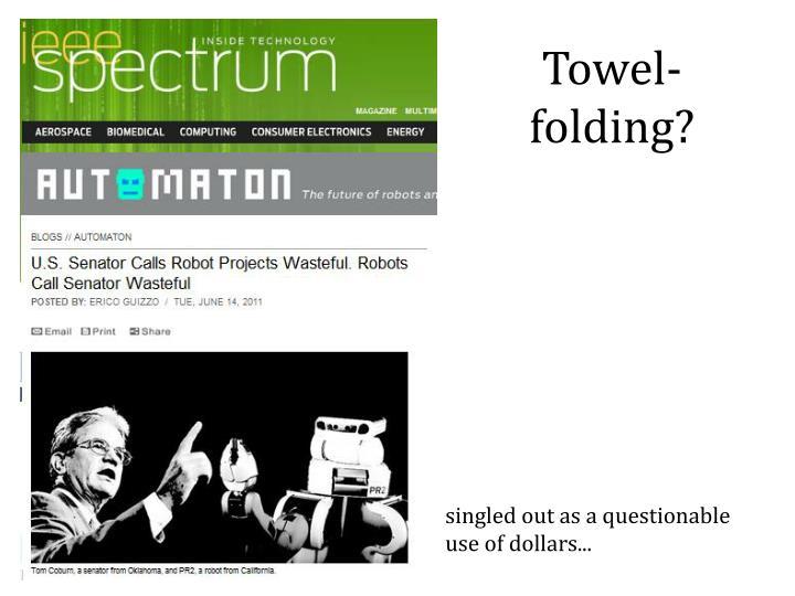 Towel-folding?
