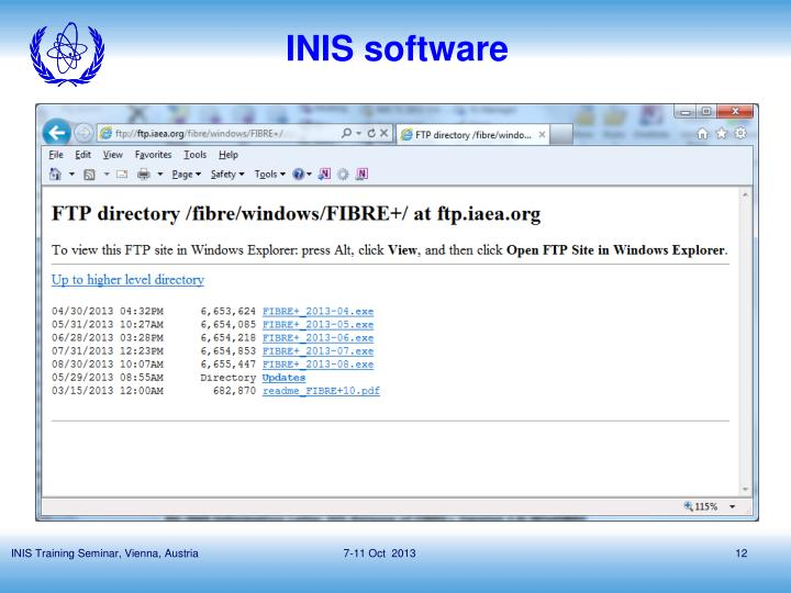 INIS software