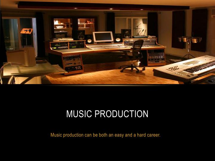music production n.