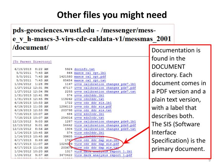 Other files you might need