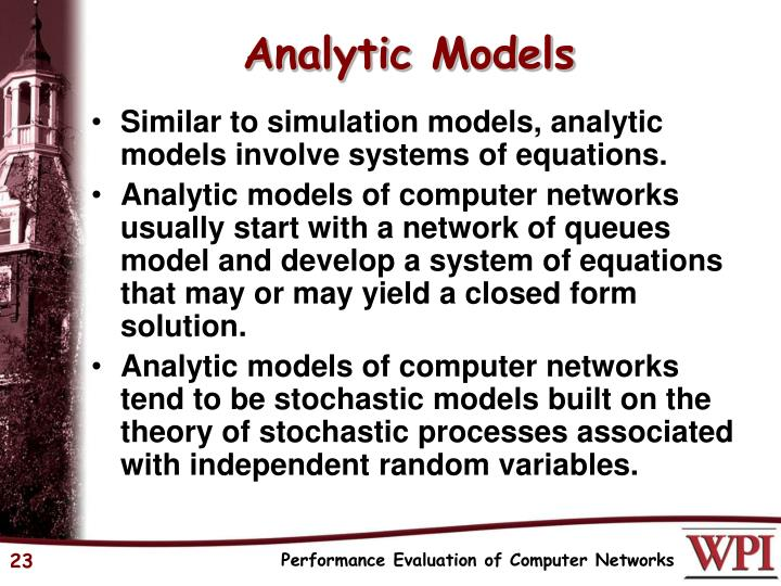 Analytic Models