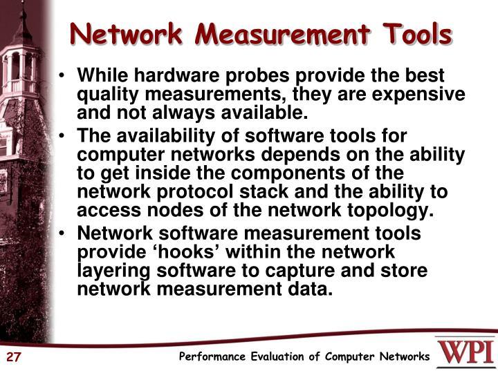Network Measurement Tools