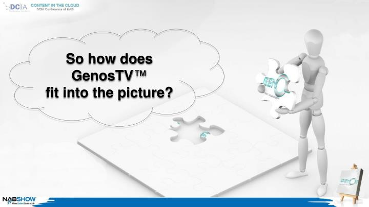 So how does GenosTV