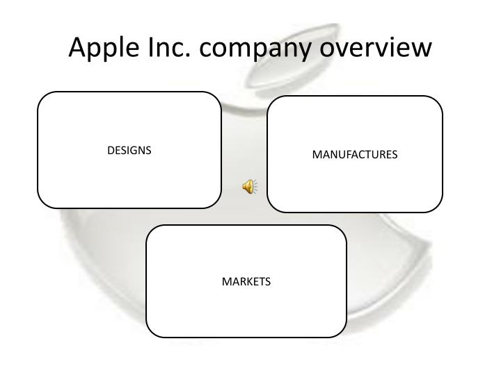 Apple inc company overview