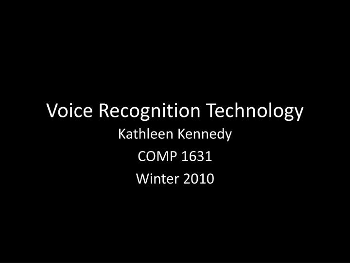 an introduction to voice recognition in computer technology A large part of the improvement in speech recognition systems since the late 1960s is due to the power of this statistical approach, coupled with the advances in computer technology necessary to.