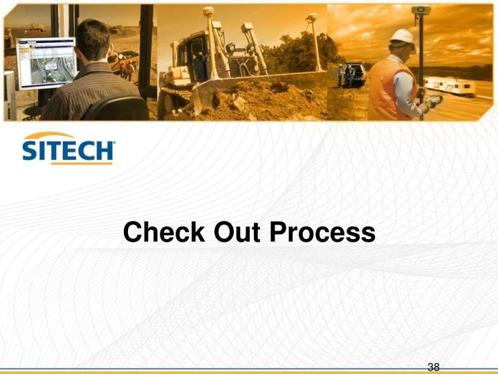 Check Out Process