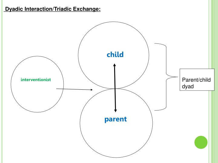 Dyadic Interaction/Triadic Exchange: