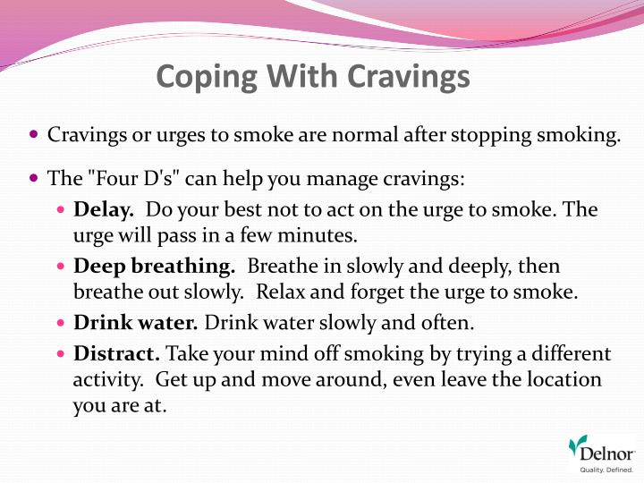 Coping With Cravings