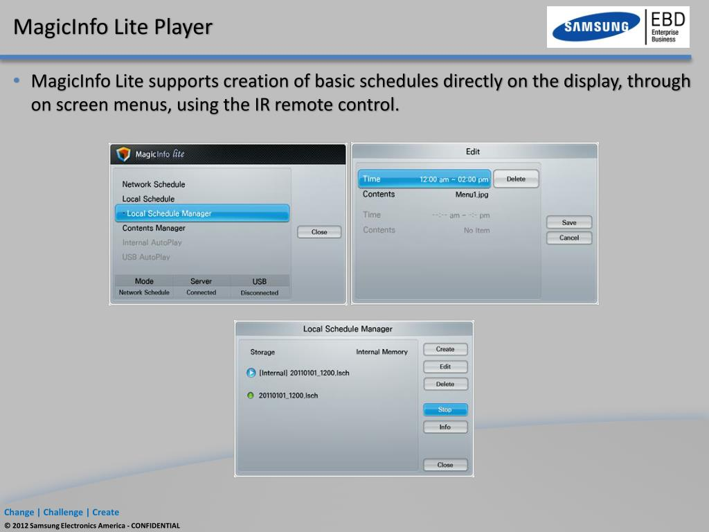PPT - Samsung Digital Signage PowerPoint Presentation - ID