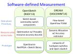 software defined measurement2