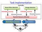 task implementation