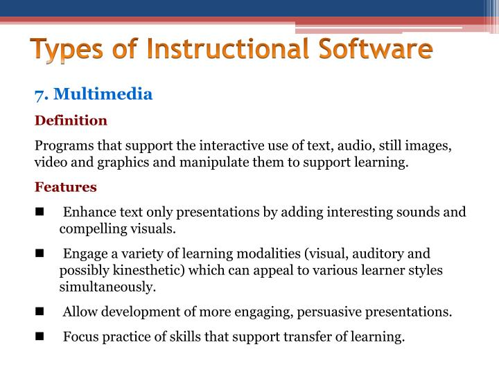 Ppt The Software As An Educational Resource Prepared By Sherrylyn
