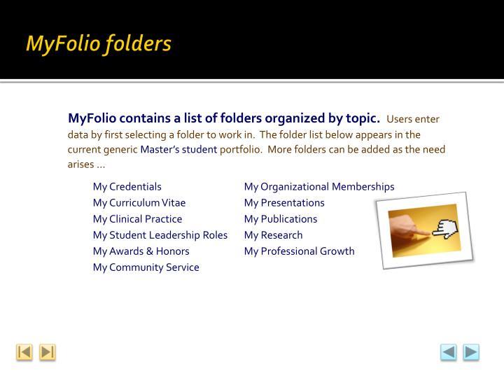 MyFolio