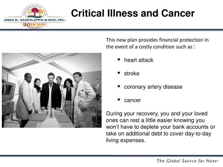 Critical Illness and Cancer
